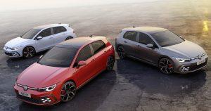 Premiere på den nye Golf GTI, GTE og GTD: Volkswagen digitaliserer de sportslige ikoner
